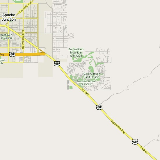 Click here to see full map of Superstition...