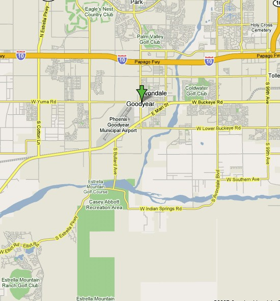 Click here to see full map of Goodyear...