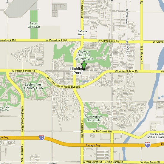 Click here to see full map of Litchfield Park...
