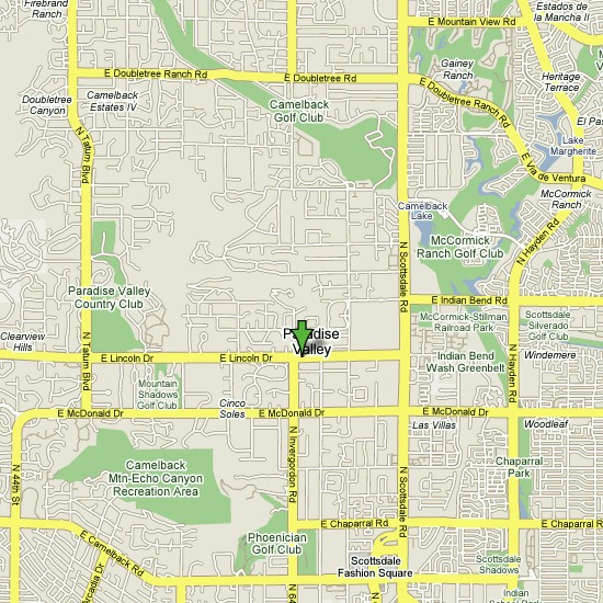 Click here to see full map of Paradise Valley...