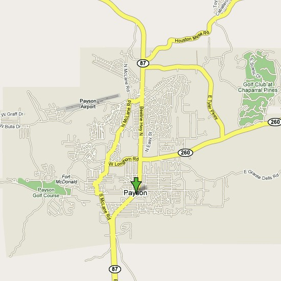 Click here to see full map of Payson...