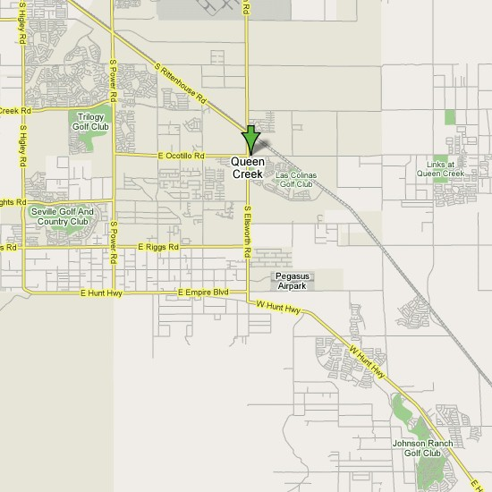 Click here to see full map of Queen Creek...