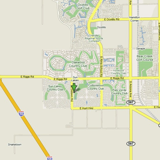 Click here to see full map of Sun Lakes...